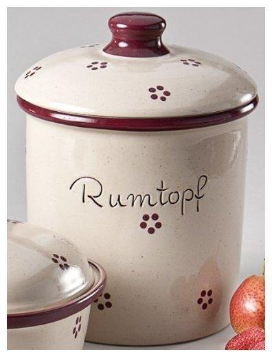 Schmitt Rumtopf 5 Liter Rubin