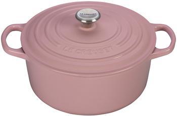 Le Creuset Signature Bräter 24 cm rund chiffon pink