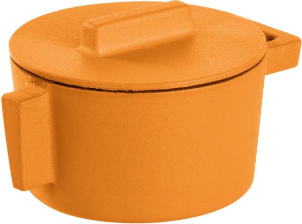 Sambonet Kasserolle mit Deckel 10 cm orange (51607V10)