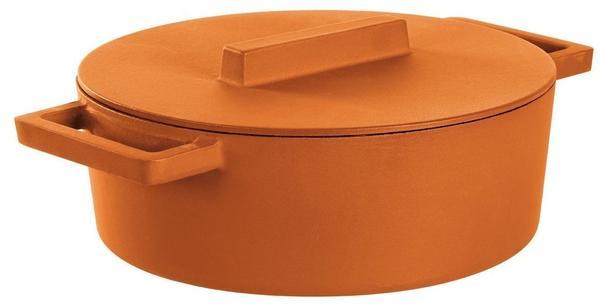 Sambonet Kasserolle oval mit Deckel 30 x 25 cm (51638C30)