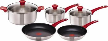 Tefal Jamie Oliver Mainstream Kochgeschirr-Set 8-tlg