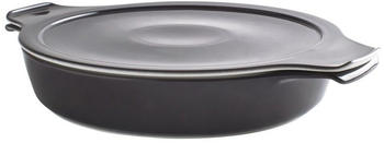 Eschenbach Kochtopf Cook & Serve Porzellan - Ø 24 cm, 1,2 L, Induktion, anthrazit