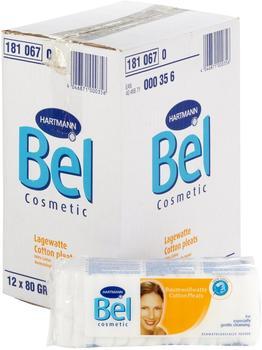 Hartmann Bel Cosmetic Lagenwatte (12 x 80 g)