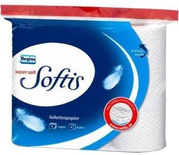 Regina Softis super soft Toilettenpapier 4-lagig (9 Rollen)