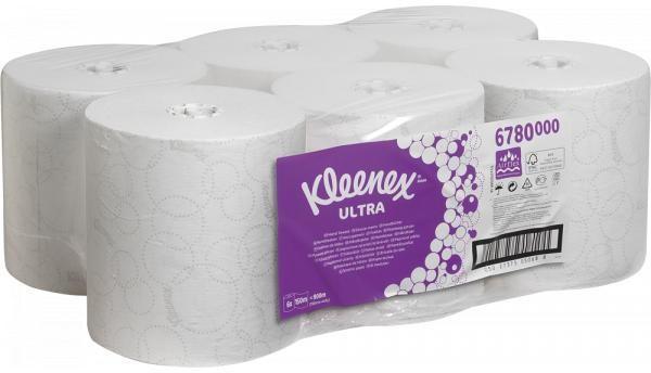 Kleenex Ultra Slimroll 2-lagig (6 Rollen)