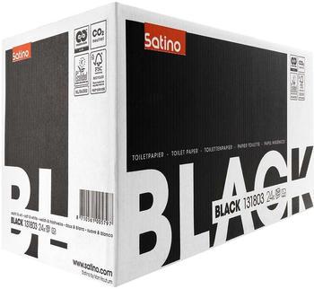 Satino Black Toilettenpapier 2-lagig (24 Kompaktrollen)