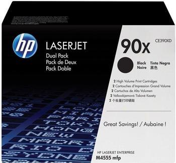 Hewlett-Packard HP 90X schwarz (CE390XD) Doppelpack