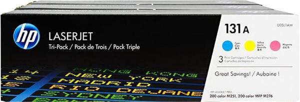 HP 131A Farbe (U0SL1AM) Dreierpack