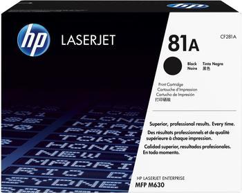 Hewlett-Packard HP 81A schwarz (CF281A)