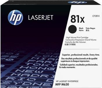 Hewlett-Packard HP 81X schwarz (CF281X)