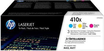 Hewlett-Packard HP Nr. 410X 3er-Pack cyan/magenta/gelb (CF252XM)