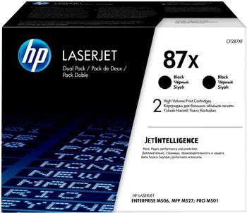 Hewlett-Packard HP Nr. 87X schwarz (CF287XD) Doppelpack