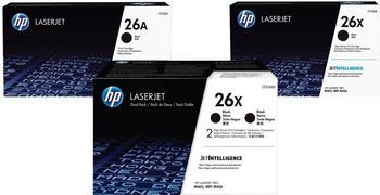 HP Nr. 26X schwarz (CF226XD) Doppelpack
