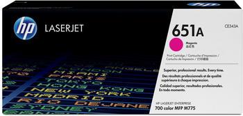 Hewlett-Packard HP 651A magenta (CE343A)