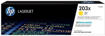 Hewlett-Packard HP Nr. 203X gelb (CF542X)