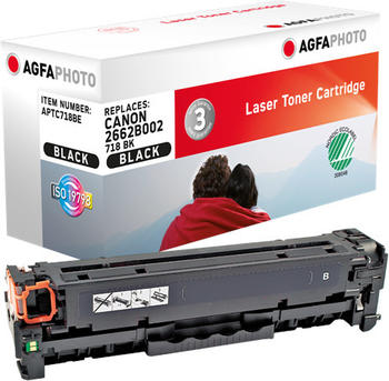 AgfaPhoto APTC718BE ersetzt Canon 718BK