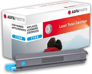 AgfaPhoto APTLC925H2CE ersetzt Lexmark C925H2CG