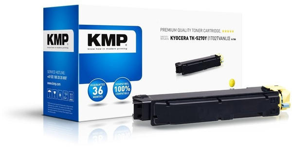 KMP K-T88 ersetzt Kyocera TK-5270Y