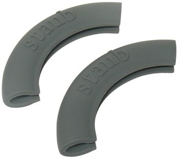 Fissler Silikongriff 2 Stück grau