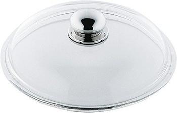 Silit Glasdeckel mit Metallknauf 16 cm