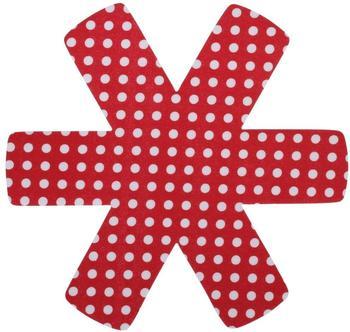 Culinario Pfannenschutz Set 3-teilig 38 x 38 cm rot
