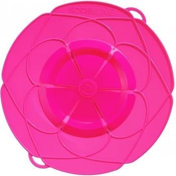 Kochblume Überkochschutz mittel 14-24 cm pink
