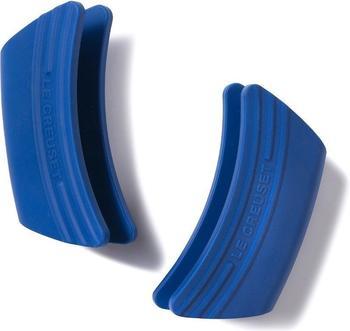 Le Creuset Silikon Griffschutz 2er-Set marseille blau