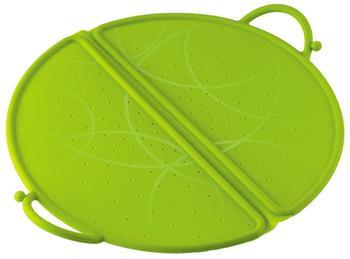 Kuhn Rikon Silikon Spritzschutz faltbar 30 cm grün