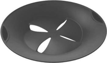 Lékué Kochdeckel Silikon 27 cm rauchgrau