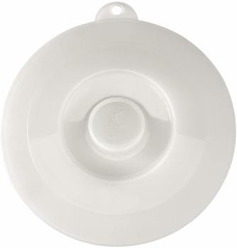 Lurch Silikon-Universaldeckel 21 cm weiß