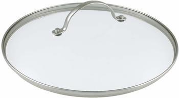 GreenPan Universaldeckel mit Edelstahlrand und Metallgriff 30 cm
