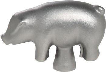 Staub Deckelknopf Schwein Edelstahl silber 6,7 x 2,5 x 4,5 cm