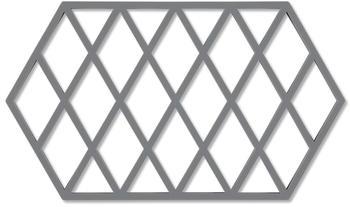 Zone Denmark Harlequin Untersetzer 24 x 14 cm cool grey