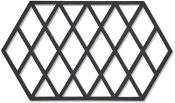 Zone Denmark Harlequin Untersetzer 24 x 14 cm schwarz
