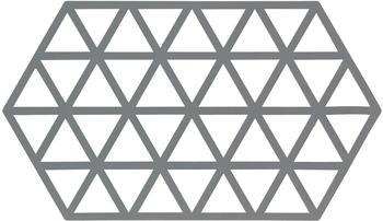 Zone Denmark Triangle Untersetzer 24 x 14 cm cool grey