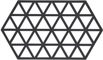 Zone Denmark Triangle Untersetzer 24 x 14 cm schwarz