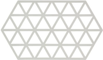 Zone Denmark Triangle Untersetzer 24 x 14 cm warm grey