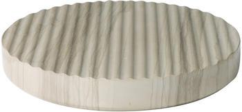 Muuto Groove Marmor-Untersetzer Ø 16 cm grau
