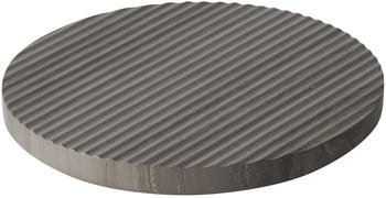 Muuto Groove Marmor-Untersetzer Ø 21,6 cm, grau