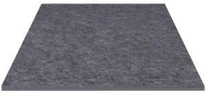 HEY-SIGN Untersetzer quadratisch 5 mm 12 x 12 cm anthrazit