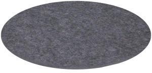 HEY-SIGN Untersetzer rund 5 mm Ø 12 cm anthrazit
