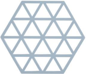 Zone Denmark Triangle Untersetzer 16 x 14 cm sky
