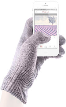 mujjo Cotton Touchscreen Gloves lavendel