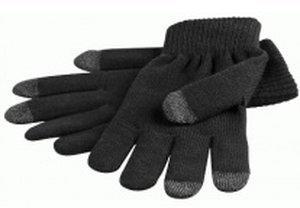 Goobay Touchscreen Handschuhe Schwarz M