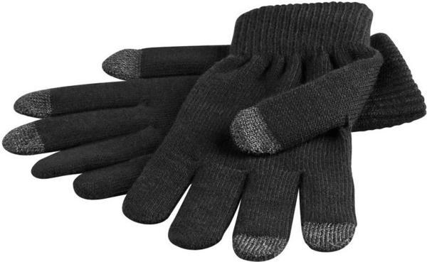 Goobay Touchscreen Handschuhe Schwarz S