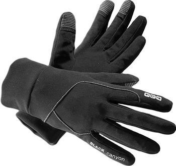 Black Canyon Touchscreen Laufhandschuhe