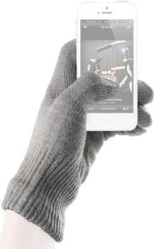 mujjo Cotton Touchscreen Gloves grey