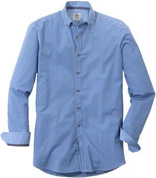 OLYMP Trachtenhemd, Body Fit, Button-Down blue (39004-41)