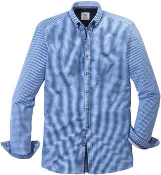 OLYMP Trachtenhemd, Body Fit, Button-Down blue (39124-41)