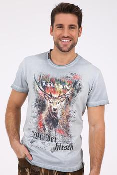 Krüger Trachten T-Shirt Tom grau (098201-0-0043)